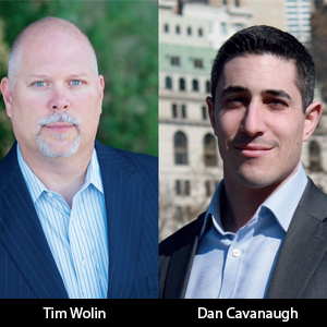 Tim Wolin, Founder and Dan Cavanaugh, CEO and President, Wolin Design Group