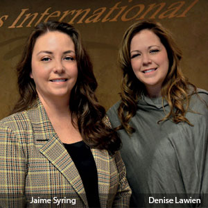 Jaime Syring, CEO & Majority Partner and Denise Lawien, Chief Sales and Marketing Officer & Partner, Trans International