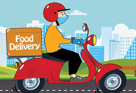 Ensuring Safety with Contactless Food Delivery