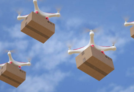 Increasing Fleet Management Efficiency with Smart Drones