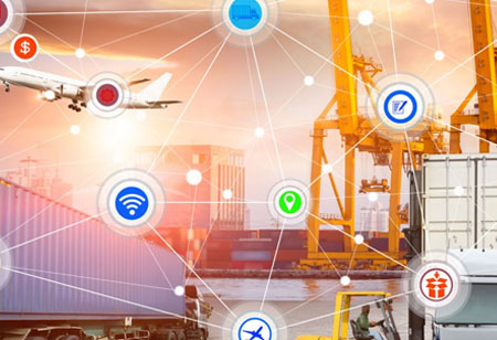 Use of IoT Technology for Improvement in Supply Chain Management